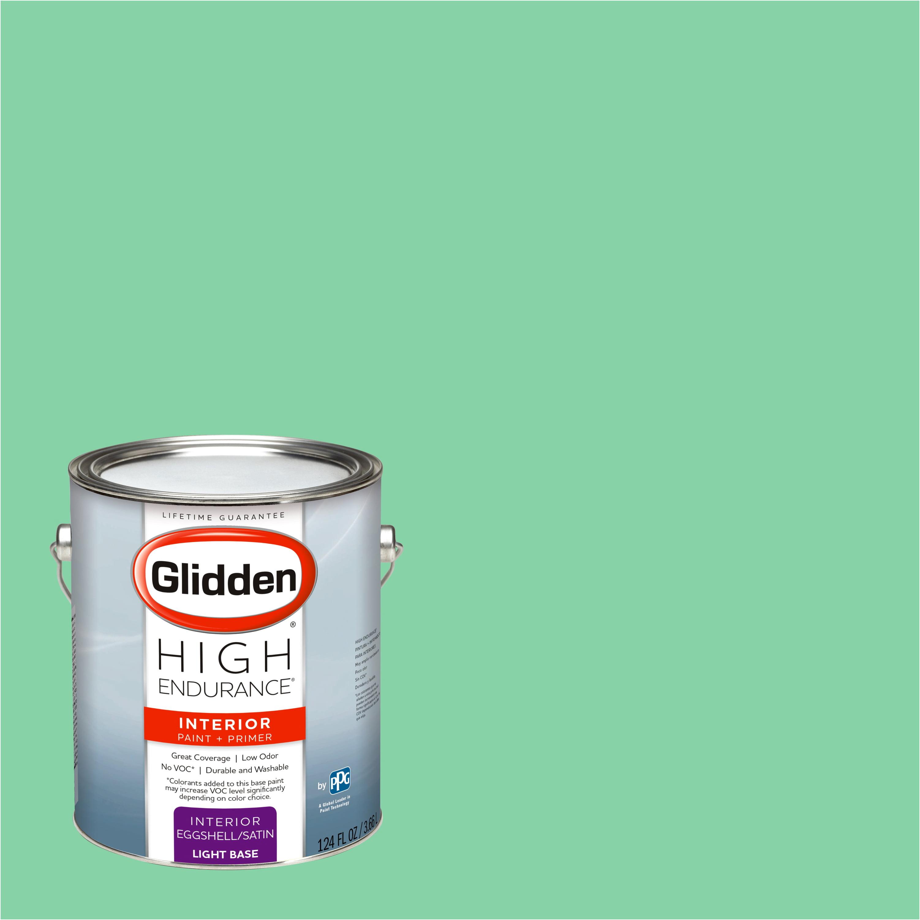 Glidden High Endurance, Interior Paint and Primer, Pillow Mint, # 90GY 54/334