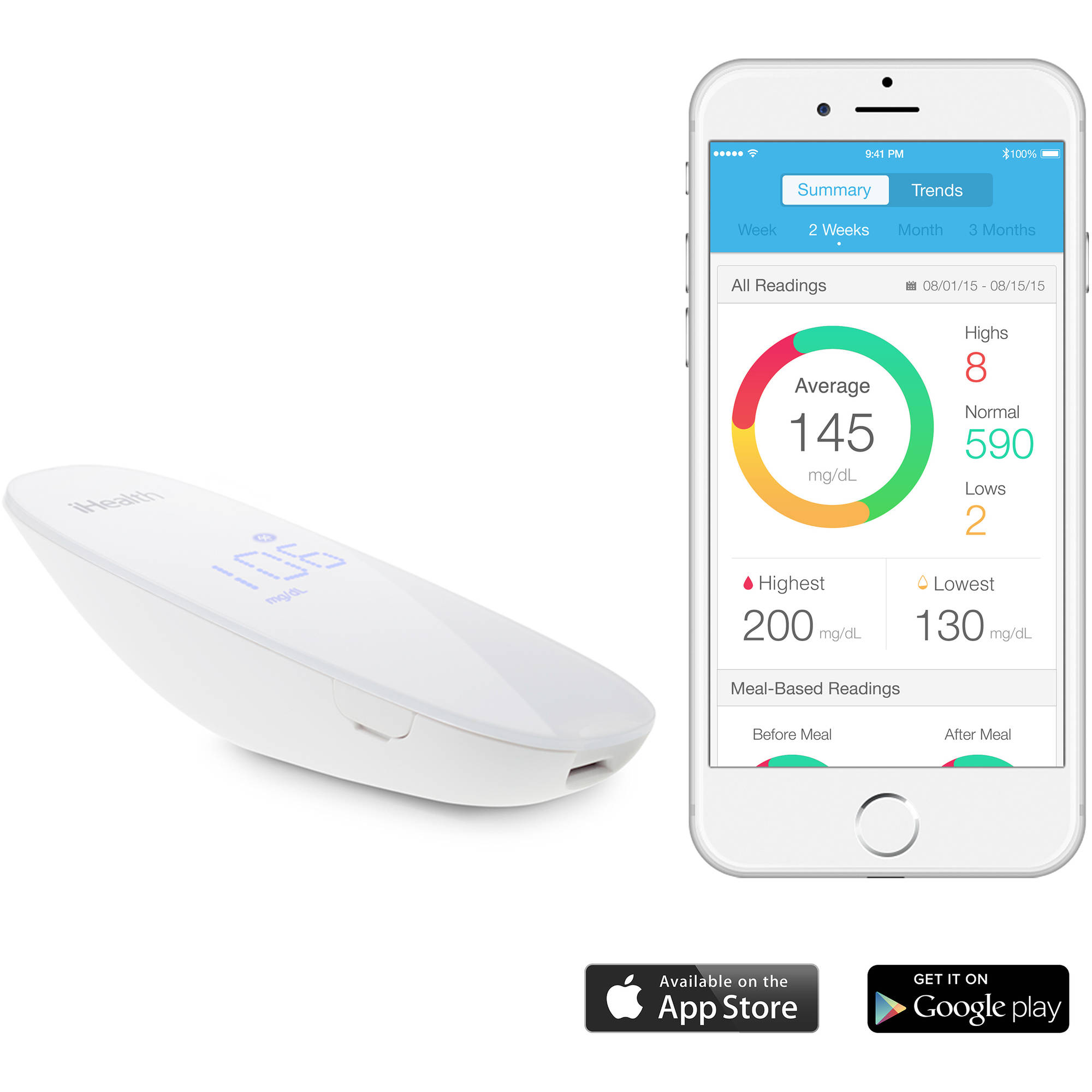 iHealth iHealth Wireless Smart Gluco-Monitoring System