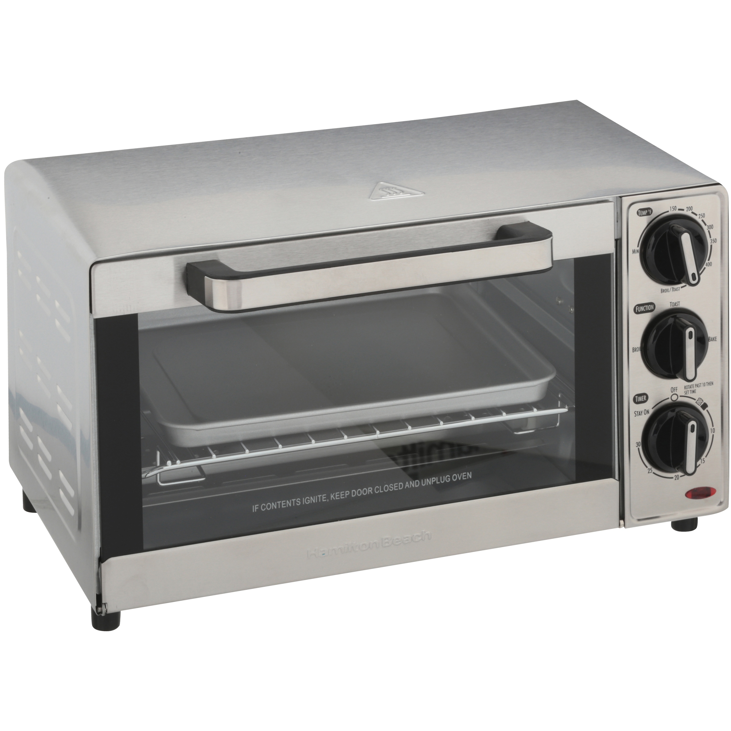 Hamilton Beach Countertop Toaster Oven | Model# 31401