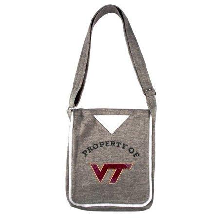 Virginia Tech Hokies NCAA Hoodie Crossbody Purse Handbag Team Logo