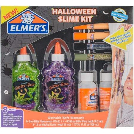 Cute Halloween Crafts For Kids (Halloween Slime Kit Elmer's)