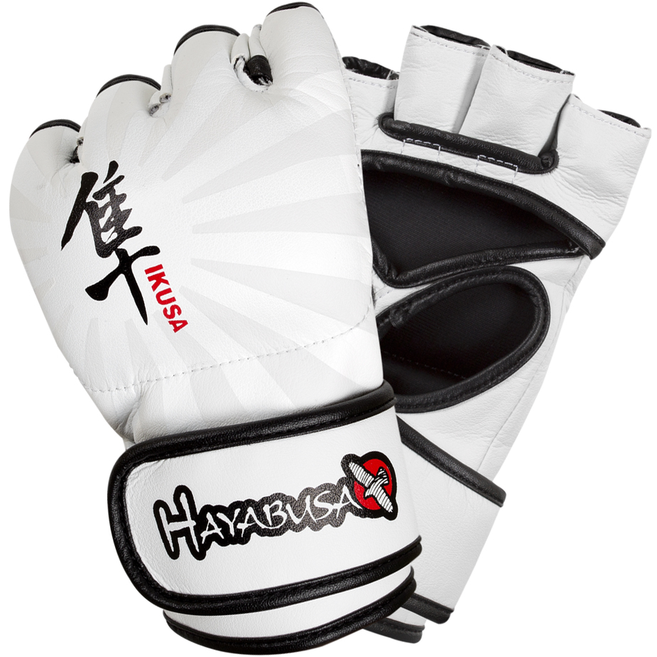 Hayabusa Ikusa 4 oz. MMA Gloves - XL - White