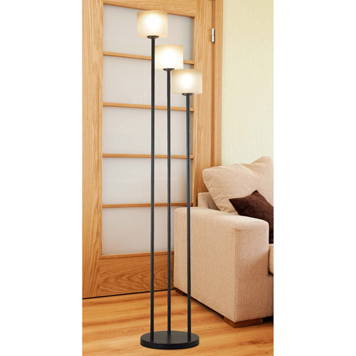 Kenroy Home Matrielle 3-Light Torchiere, Oil Rubbed Bronze