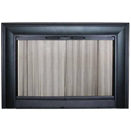 Fireplace Door Thermo Rite Celebrity Clearview Ce4129 41 12w X 29
