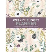 Weekly Budget Planner (Book)
