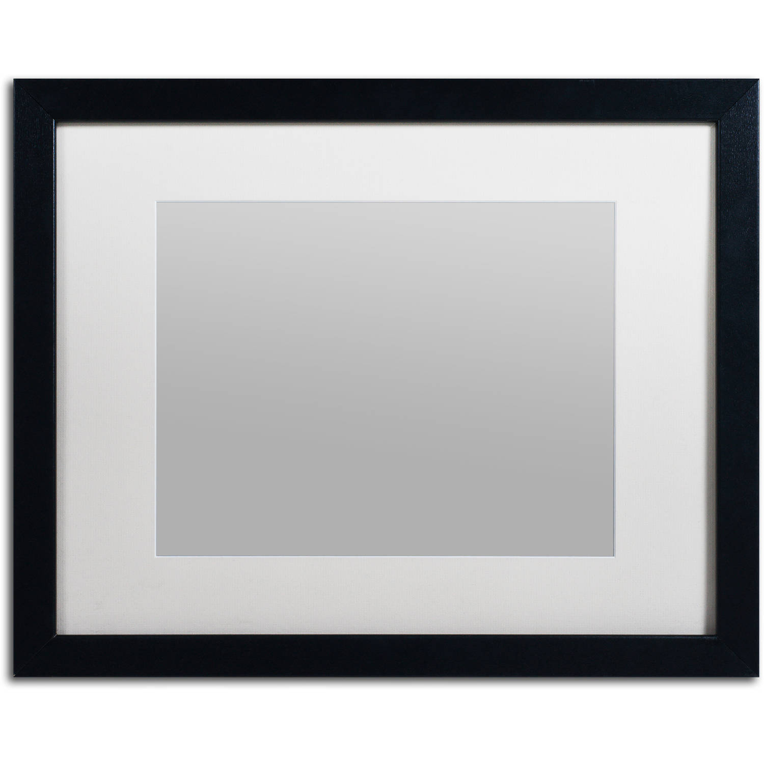 Trademark Fine Art Heavy Duty 16x20 Black Picture Frame