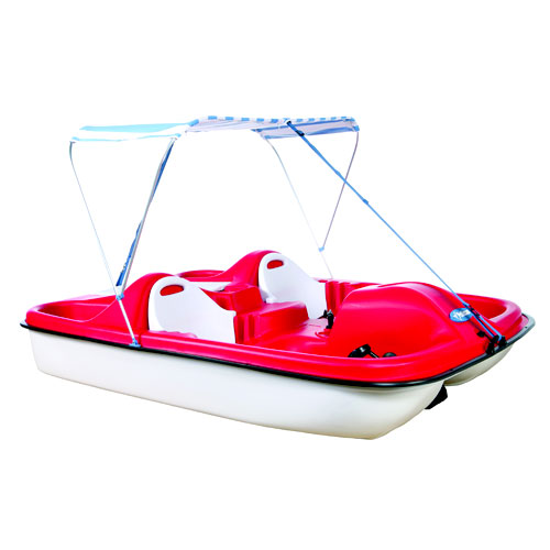 Pelican Monaco DLX 5-Passenger Pedal Boat with Canopy  sc 1 st  Walmart & Pelican Monaco DLX 5-Passenger Pedal Boat with Canopy - Walmart.com
