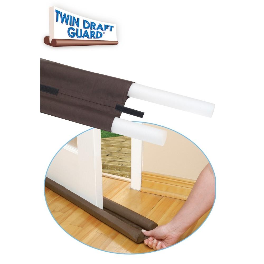 twin draft guard wind dust blocker sealer stopper insulator for