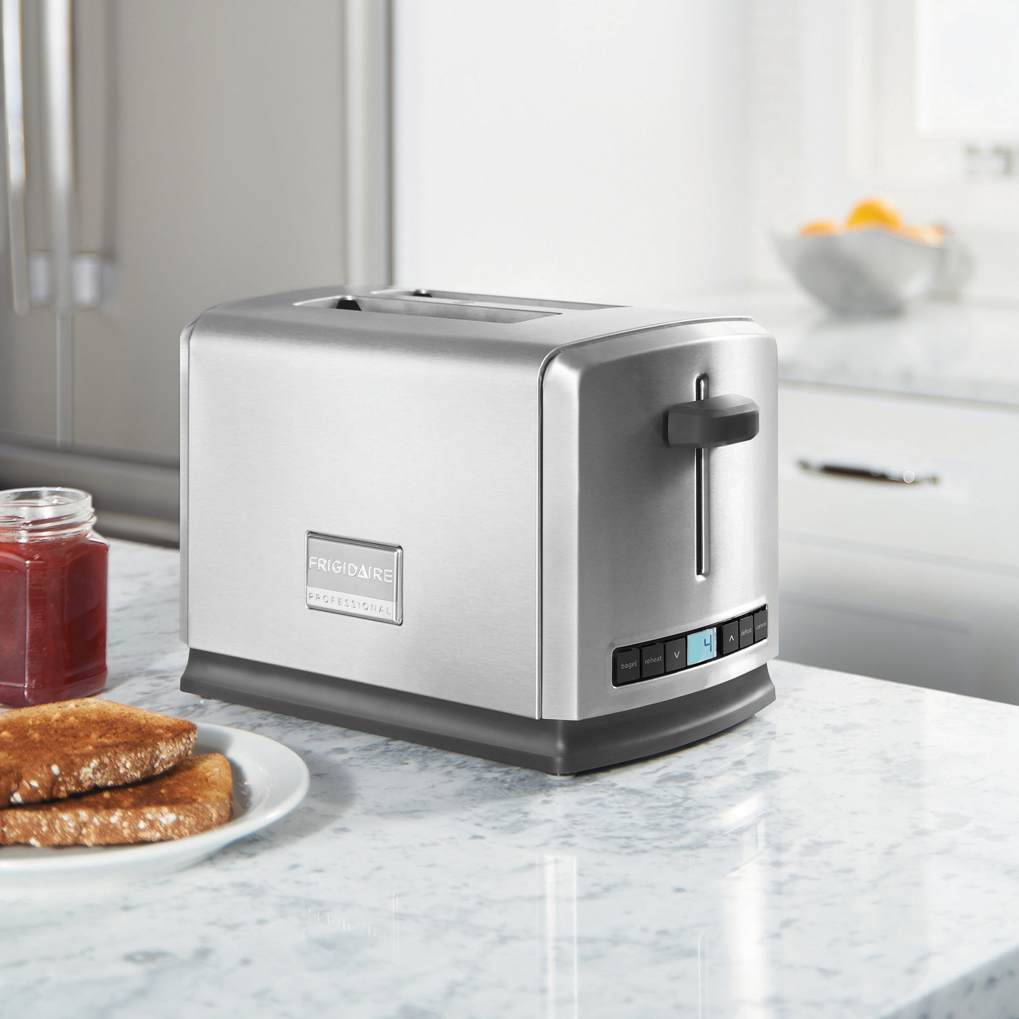 Frigidaire Professional 2-Slice Toaster, Stainless Steel