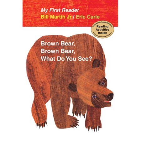 Brown Bear, Brown Bear, What Do You See? My First Reader - Brown Bear Brown Bear Book