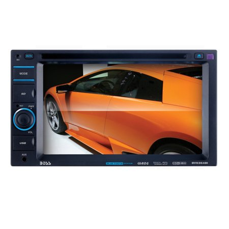 Boss Audio Bv9364b Double Din Dvd Cd Rds Receiver With 6 2  Digital Tft Monitor