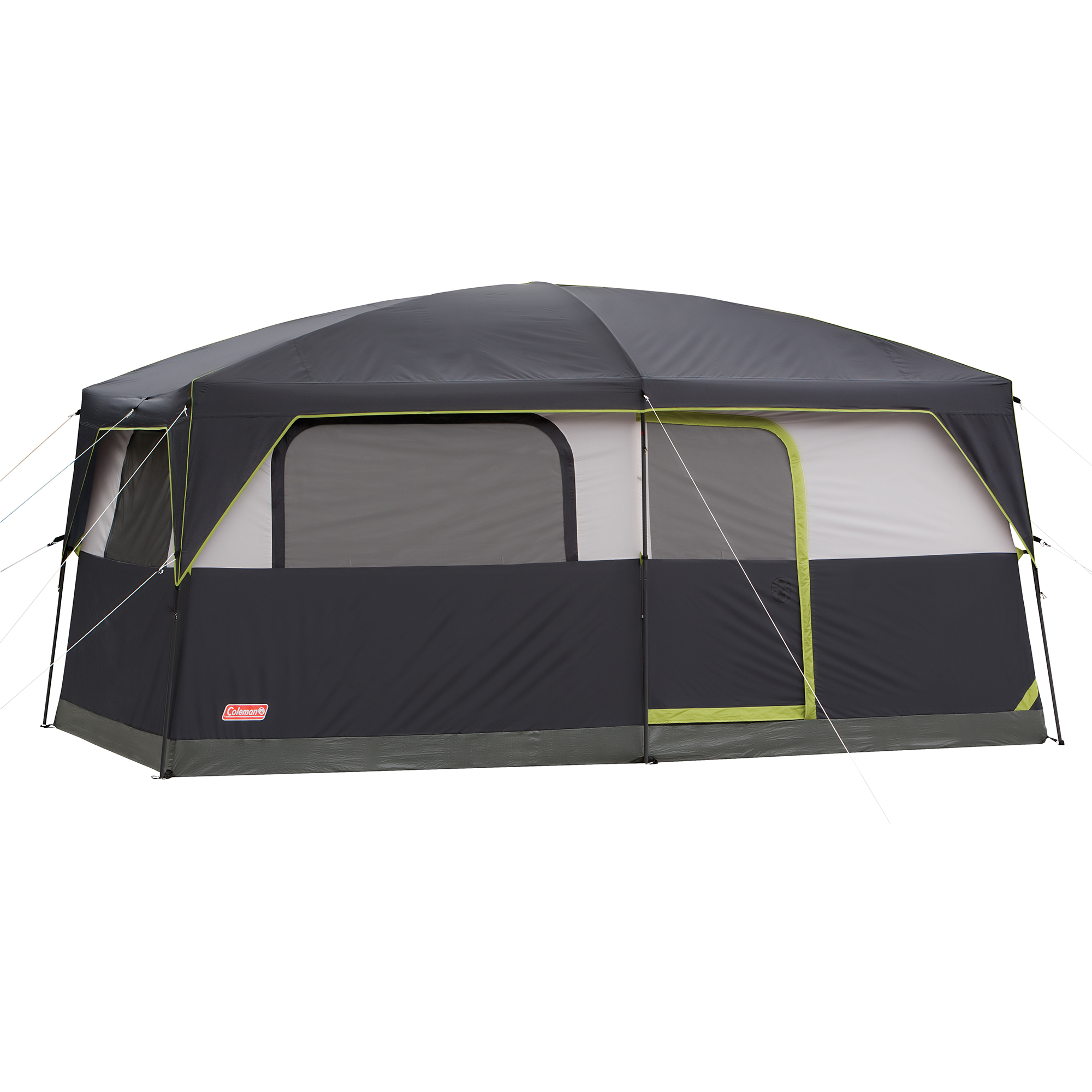 Coleman Prairie Breeze 8-Person Cabin Tent with Built-In LED Light and Integrated Fan by COLEMAN