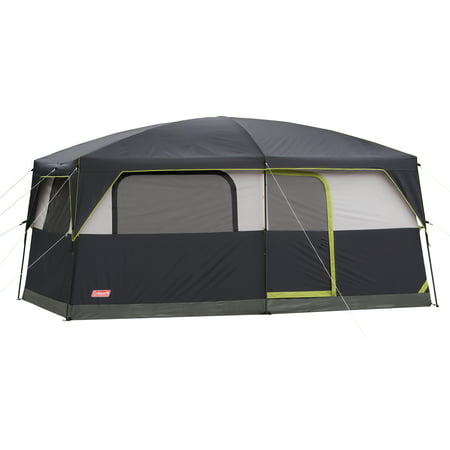 - Coleman Prairie Breeze 8-Person Cabin Tent with Built-In LED Light and Integrated Fan
