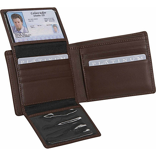 Royce Leather Men's Euro Commuter Wallet