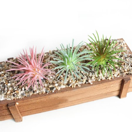 Mr.Garden Artificial Plant Mini Hollow Grass Lifelike Plant For Display 9 Pieces 3
