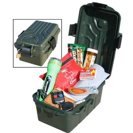 MTM Survivor Dry Box with O-Ring Seal (Forest Green, Large) - image 4 of 4