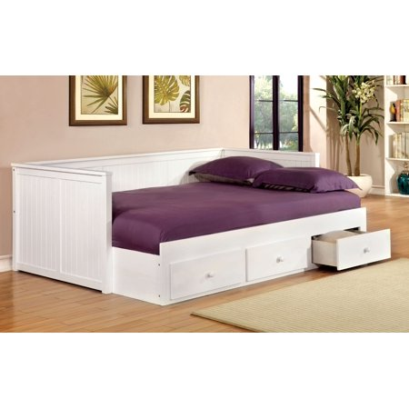 Furniture of America Sorrinah Cottage Style Full Size Daybed, Multiple Colors ()
