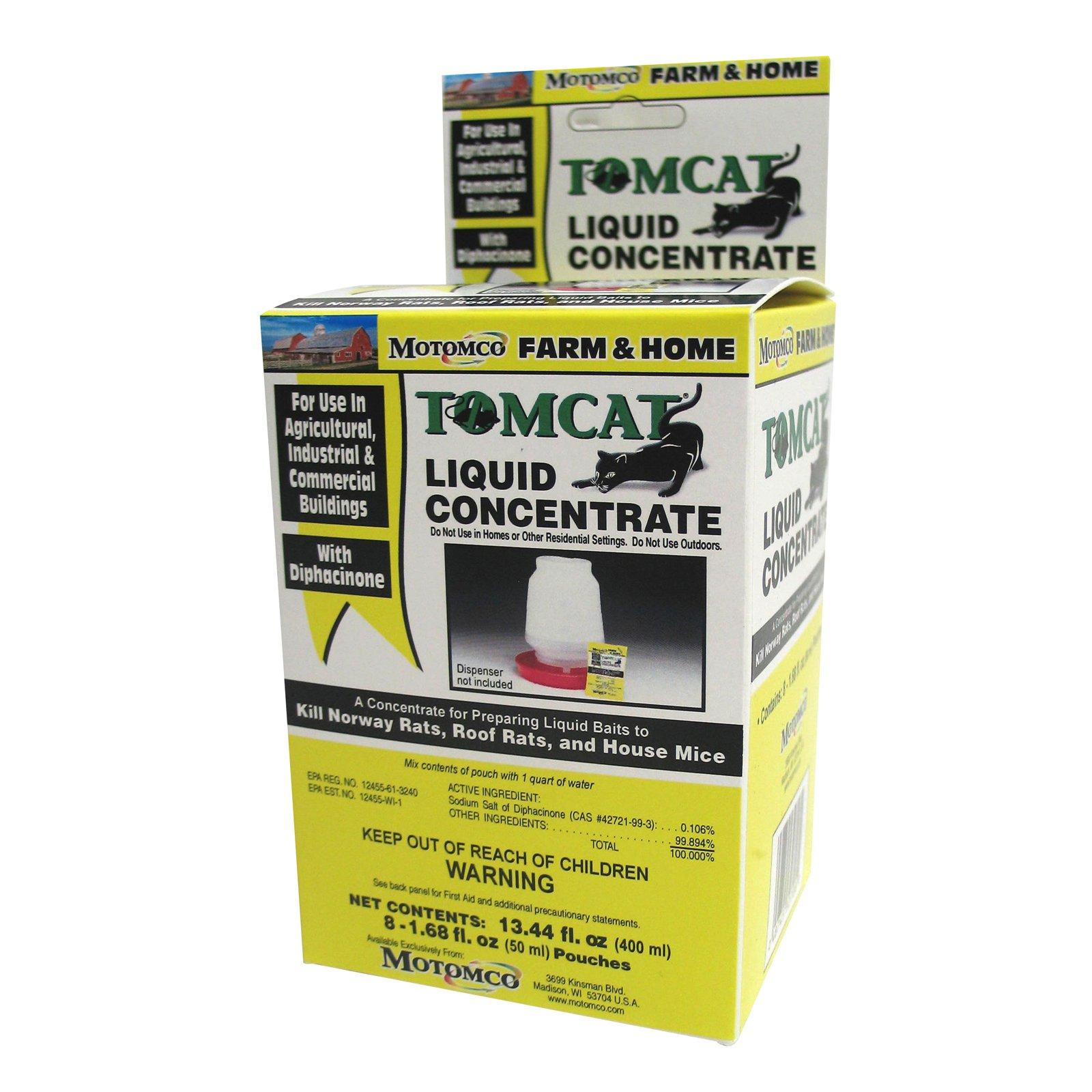 Tomcat Liquid Concentrate (Set of 8)