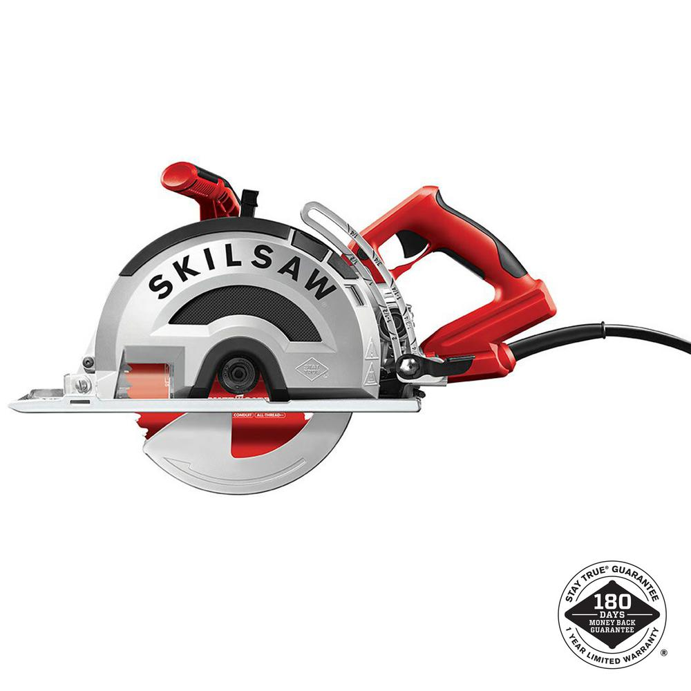 SKILSAW 15 Amp Corded Electric 8 in. OUTLAW Worm Drive Saw for Metal with 42-Tooth Diablo Cermet-Tipped Blade (New Open Box)