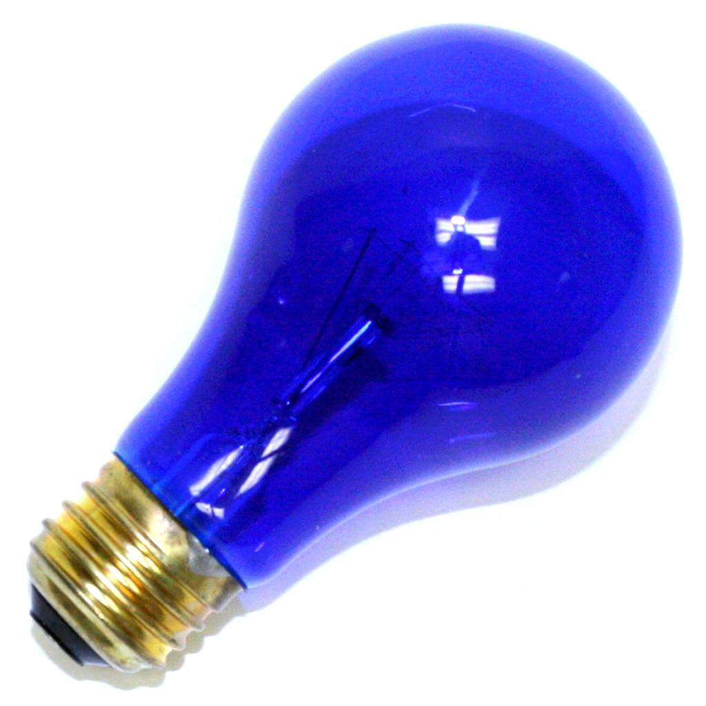 Halco 101150 - A19BLU25T Standard Transparent Colored Light Bulb
