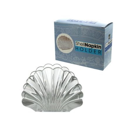 Shell Shaped Napkin Holder, Add elegance and style to any dining room or kitchen setting with this shell-shaped napkin holder By bulk buys
