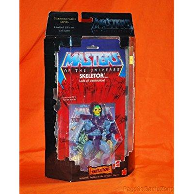 masters of the universe skeletor figure commemorative series limited edition 1 of 15,000... by
