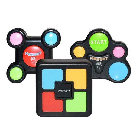 Children Puzzle Memory Game Console LED Light Sound Interactive Toy - image 5 de 10