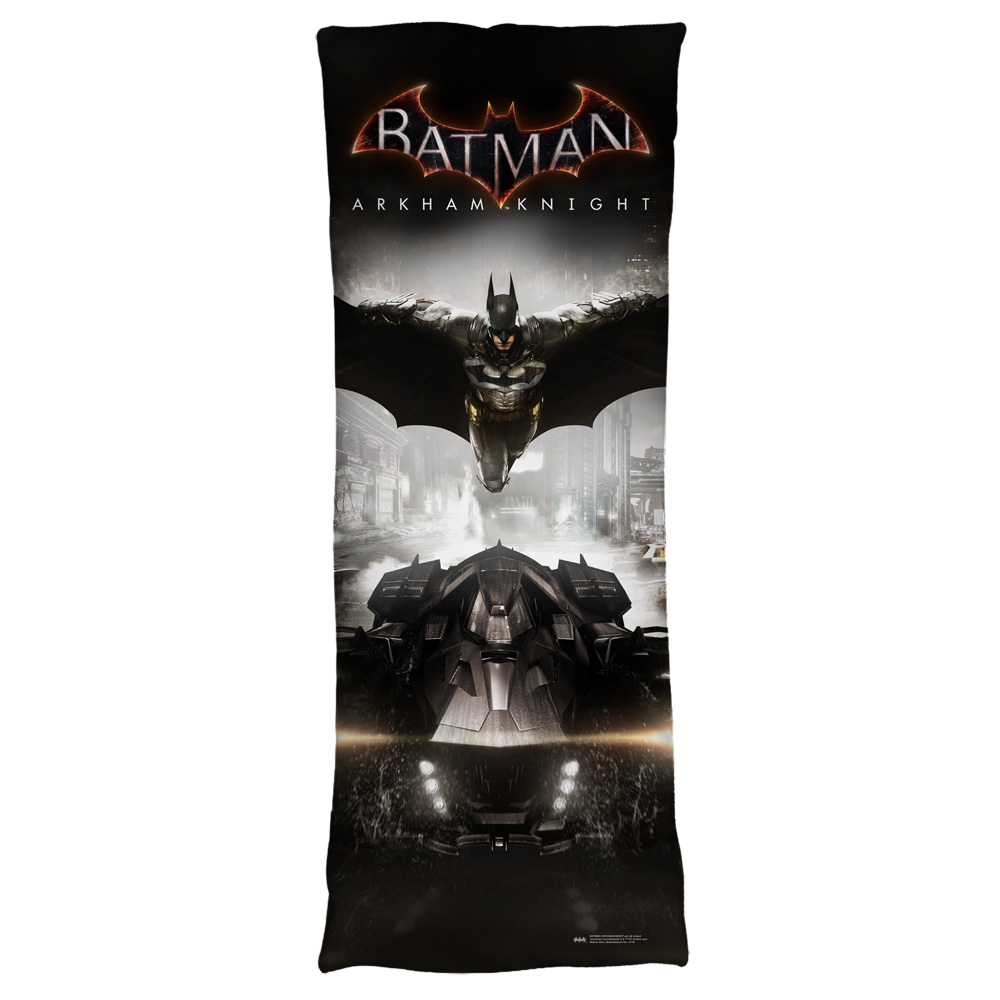 Batman Arkham Knight Arkham Knight Poster Microfiber Body Pillow White 18X54