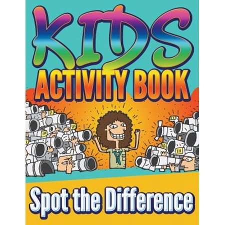 Kids Activity Book : Spot the Difference - Halloween Spot The Difference