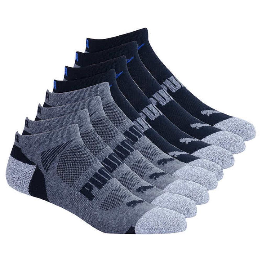 2350bcc14f0e Buy Puma Men's Low Cut All Sport No show 8 Pair Socks. BONUS PACK ...