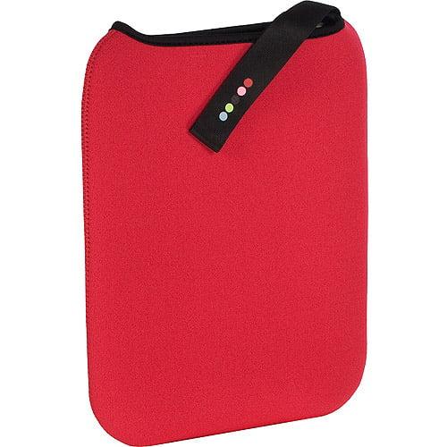 """10""""Tablet Reversible Sleeve (Red/Black)"""