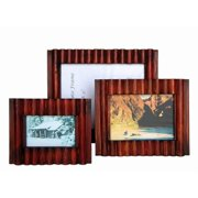 Sunshine Trading ST-33-5 Handmade Wood Photo Frame - 3.5 x 5 Inch