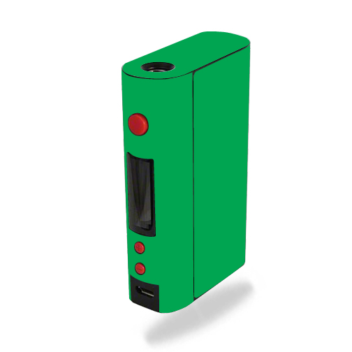 Skin For Kanger KBOX 200W – Glossy Green | MightySkins Protective, Durable, and Unique Vinyl Decal wrap cover | Easy To Apply, Remove, and Change Styles | Made in the USA