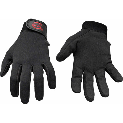 Boss Large Unlined Work Gloves