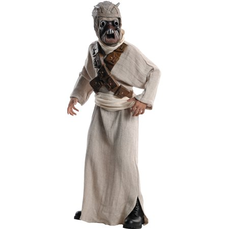 Kids Childs Boys Deluxe Star Wars Tusken Raider Character Costume