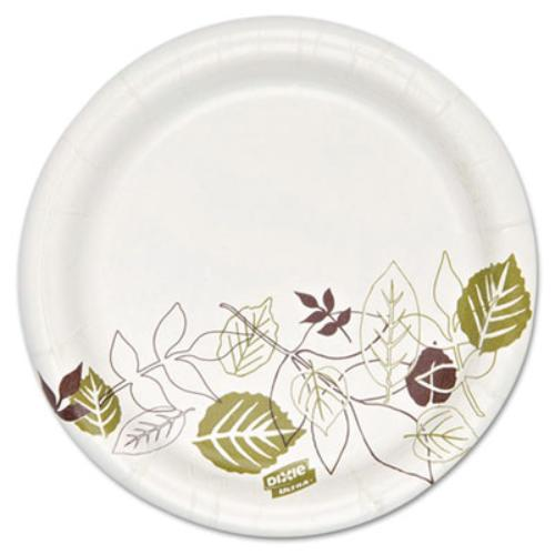 "Dixie Pathways Heavyweight Paper Plates - 5.82"" Diameter Plate - Paper Plate (sxp6path)"