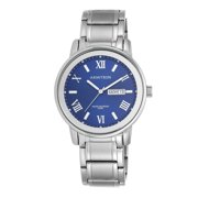 Men's Round Dress Watch with Silver Band, Armitron