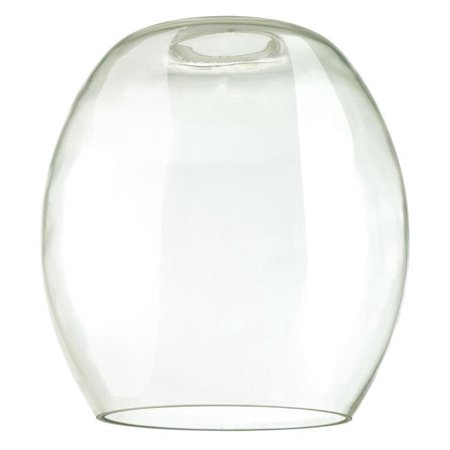 "Westinghouse 85055 - 2.25"" Fitter Clear Barrel Shade (2 1/4"" Clear Barrel Shade)"