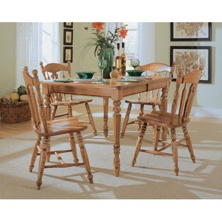 Cochrane Furniture Thresher\'s Too Dining Table - Walmart.com