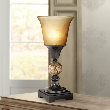 Regency Hill Traditional Uplight Accent Table Lamp 13 1/2