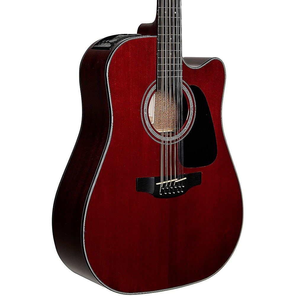 Takamine GD-30CE 12-String Acoustic-Electric Guitar Wine Red