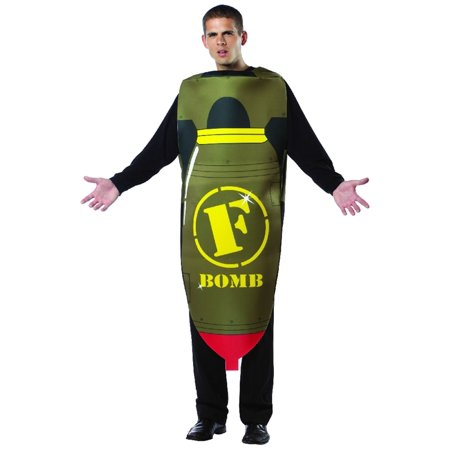F Bomb Adult Mens Costume - Jager Bomb Halloween