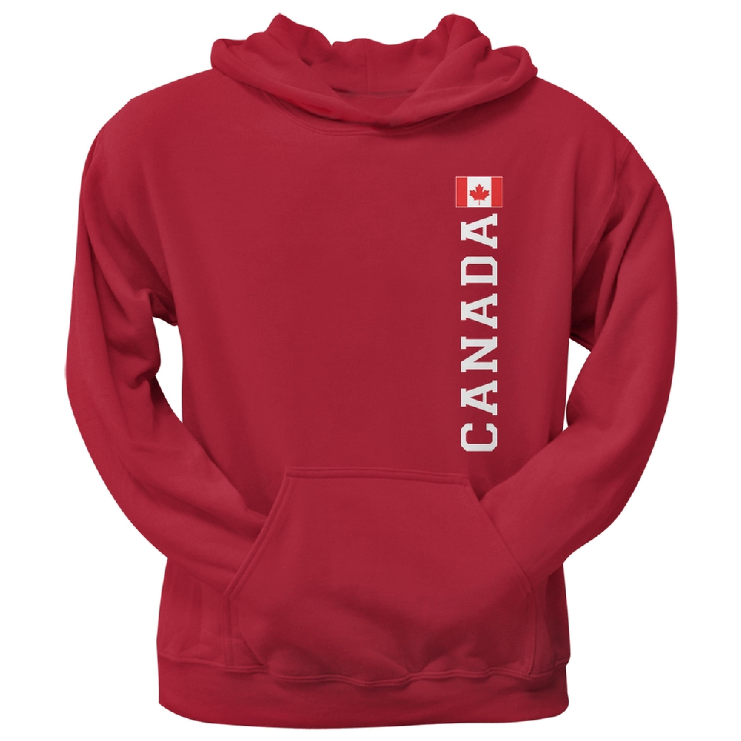 World Cup Canada Red Adult Pullover Hoodie