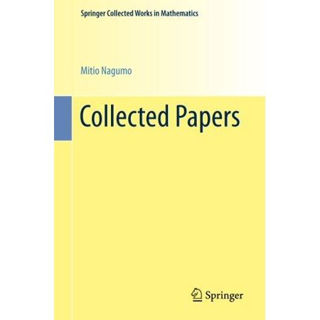 Collected Papers  1993   Springer Collected Works In Mathematics   German  English
