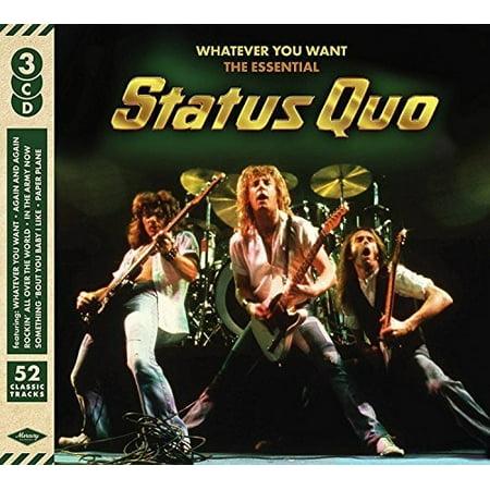 Whatever You Want: Essential Status Quo (CD) (Status Quo Bula Quo)