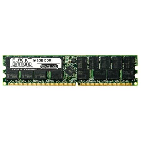 2GB RAM Memory for Compaq HP Workstation Xw6000 184pin PC2100 DDR RDIMM 266MHz Black Diamond Memory Module Upgrade