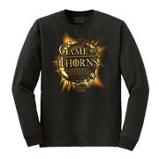 Thorn Crown Christian T Shirt | Game of Thrones Jesus Christ Long Sleeve Tee