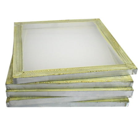 6 Aluminum Silk Screen Printing Press Screens 110 Frame Mesh 18\