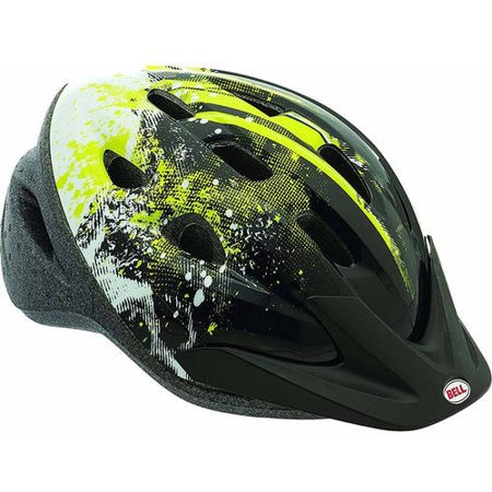 Bell Richter Black Riot Helmet, Youth 8+ (54-58cm)