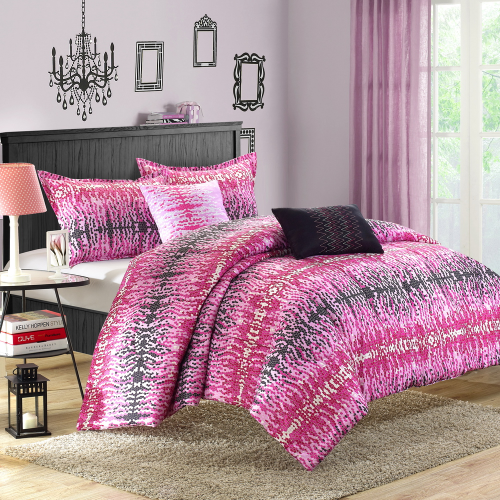 Chic Home Barbie 5 Piece Reversible Comforter Set